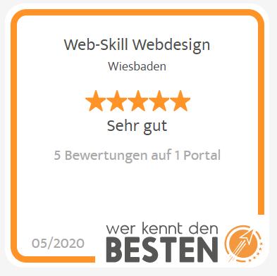 3. Platz Webdesigner Wiesbaden